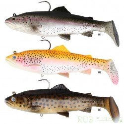 3D TROUT RATTLE SHAD SAVAGE GEAR 12.5cm