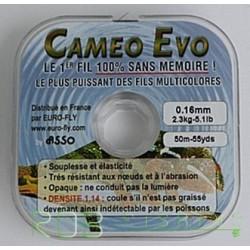 Fil de peche nylon multicolore Cameo Evo