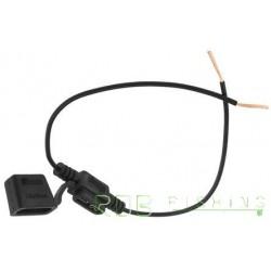 Porte-fusible en ligne pour fusibles à lame, 20A 32V AC / DC