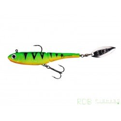 DAM Effzett Kick-S Minnow 100mm 16gr fire shark
