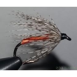 Mouche noyée RDB Orange partridge