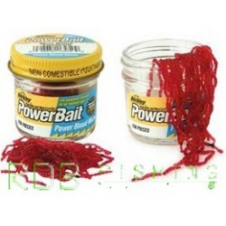 Ver de vase Power Bait - Power Blood Worm