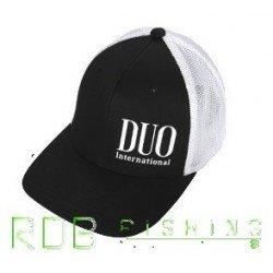 DUO FLEXFIT CAP noir blanc