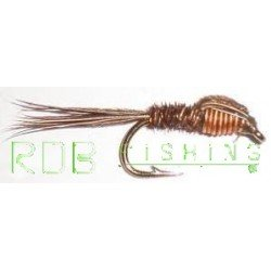 Nymphe pheasant tail cuivre
