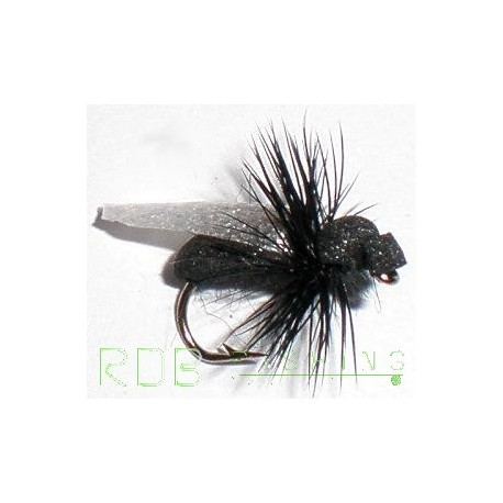 Mouche sèche RDB fourmi noire ailée en mousse