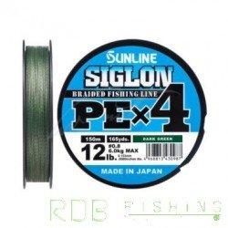 Sunline SIGLON PE X4 Dark Green 150 m
