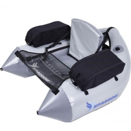 Float tube SPARROW COMMANDO GRIS