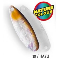 Cuillère ondulante RAPTURE NATIVE SPOON Area Trout 36mm 3.6 gr HAYU