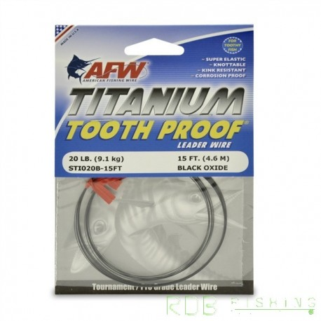 Titanium Tooth Proof