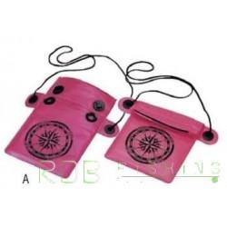 Porte-documents rabattable étanche avec cordon Plastimo