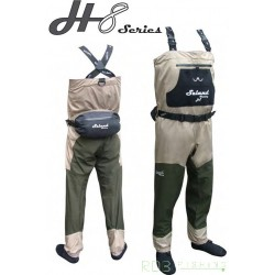 Waders respirant H8 Séries avec chausson