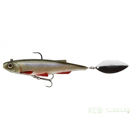 Spintail Shad 12,5cm 40gr Daiwa coloris Bleak