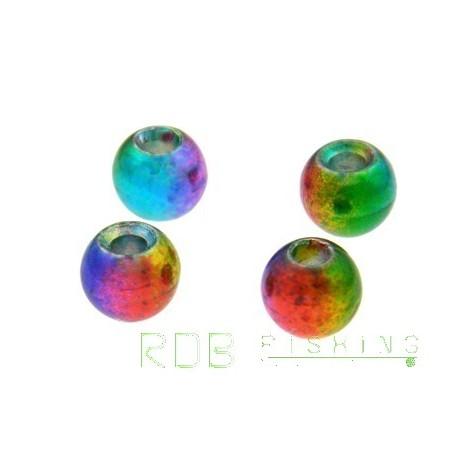 Billes en tungstène couleur Rainbow