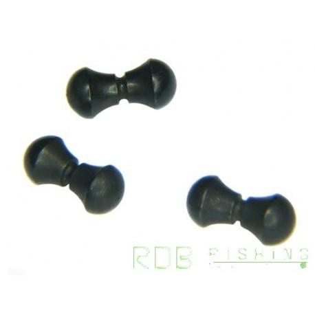 Yeux en laiton couleur Black 3mm