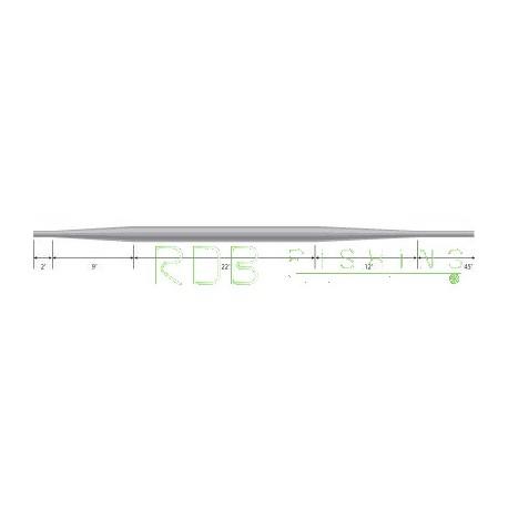 Soie flottante WF 10 Platinum Greys profil de soie