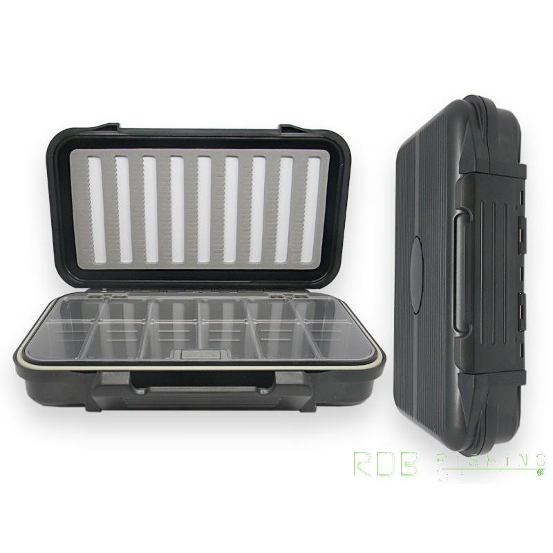 bo te mouche rdb noire tanche 1 compartiment casiers. Black Bedroom Furniture Sets. Home Design Ideas