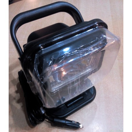 Spot exterieur démontable et orientable 12 V 35 w au Xenon avec télécomande