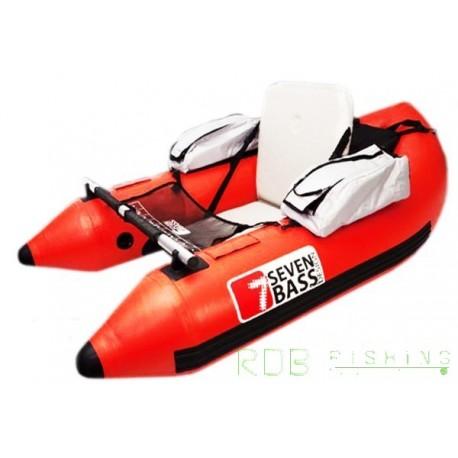 Float tube Seven Bass ARMADA 170 coloris rouge