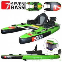 Float tube Seven Bass JUNGLE OPERATOR