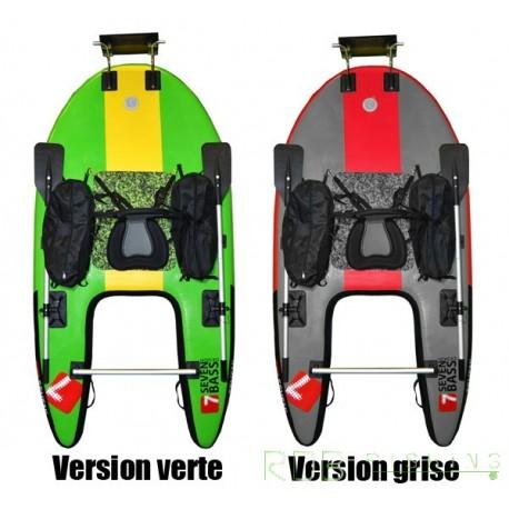Float tube Seven Bass JUNGLE OPERATOR coloris