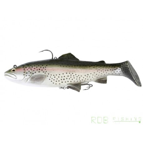 3D TROUT RATTLE SHAD SAVAGE GEAR 20.5 cm Slow Sink Rainbow Trout