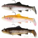 3D TROUT RATTLE SHAD SAVAGE GEAR 27.5 cm Moderate Sink