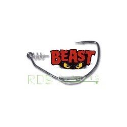 Hameçons Texan Owner Beast plombés 5130W