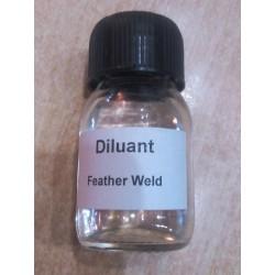 Diluant pour vernis à ailes (feather weld)