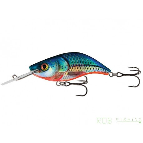 Salmo Sparky Shad sinking 4cm 3gr Blue Holographic Shad