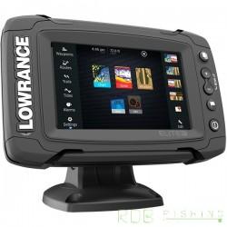 Combiné sondeur, traceur Lowrance Elite-5 TI TotalScan™