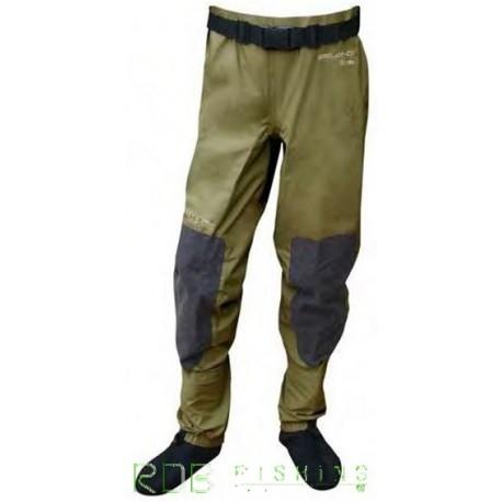 Pantalon de wading respirant avec chausson néoprène