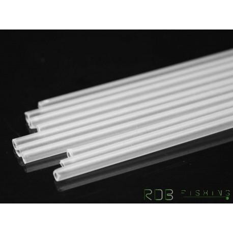 Tubes transparents en plastique rigide diam 1.8mm