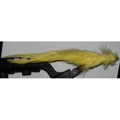 Streamer a brochet RDB JF 034 coloris jaune