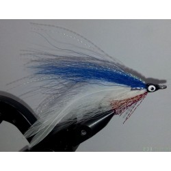Streamer a brochet RDB Lefty's deceiver bleu et blanc
