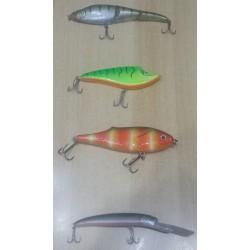 Lot de 4 poissons nageurs, d'occasion