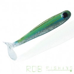Bad Shad AMS Fishing 4'' (10cm) coloris 11 Bleu Pailletté
