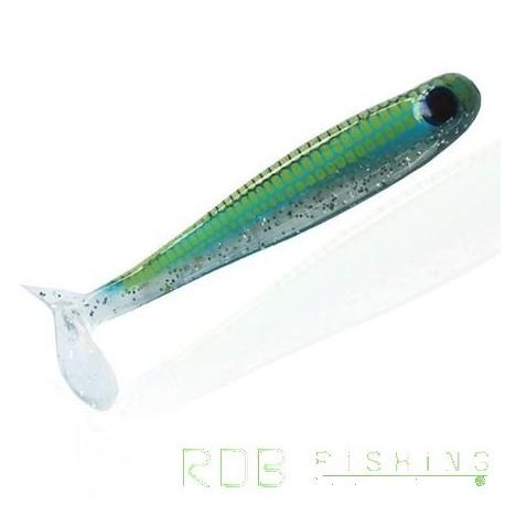 Bad Shad AMS Fishing 4'' (10cm) coloris 11 Bleu Pailletté