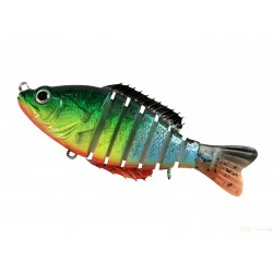 Segment Shad 4'' (10cm ) / 20gr / sinking color 399 FIRE TRICO