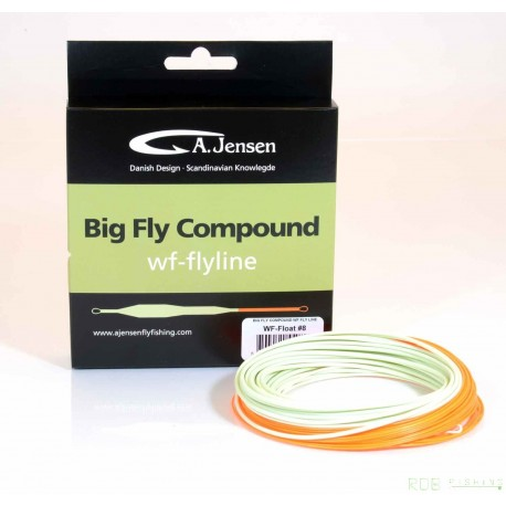 Soie flottante WF A. Jensen Big Fly Compound