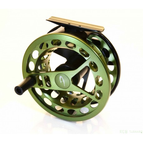 Moulinet mouche A. Jensen Target Pike - Olive pour soie de 8/10