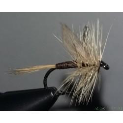 Mouche sèche RDB Ginger quill avec ailes