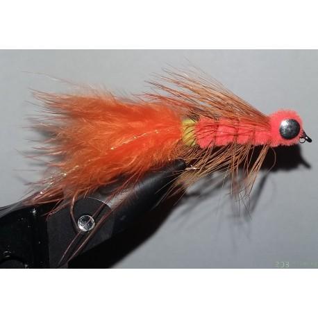 Streamer RDB dog nobbler orange