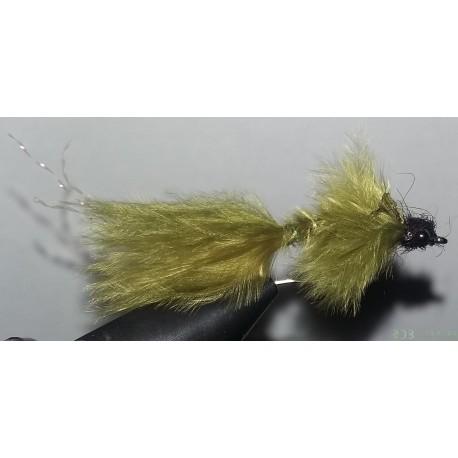 Streamer, nymphe RDB larve de libellule olive