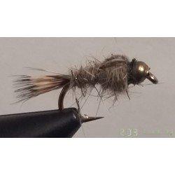 Nymphe RDB Oreille de lièvre casquée (Gold Ribbed Hare's Ear)