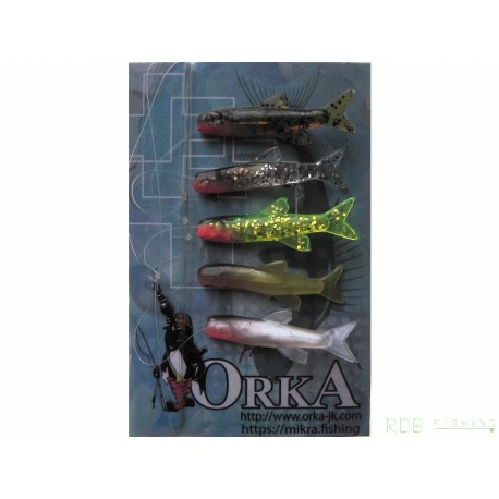 Gambes Small Fish Orka coloris Mix