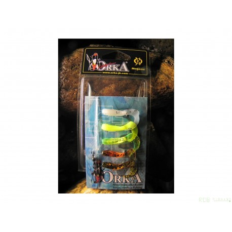 Gambes Twister Orka coloris Mix