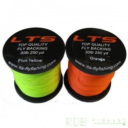 Backing LTS 30 lbs 250 yd Fluo Yellow