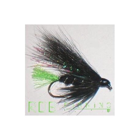 Streamer RDB noir-chartreuse