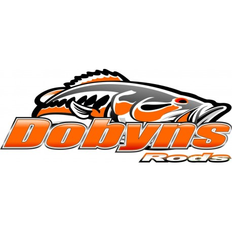 Dobyns Rods Decals 22 cm 9 Inch