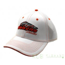 WHITE MESH ADJUSTABLE HAT DOBYNS